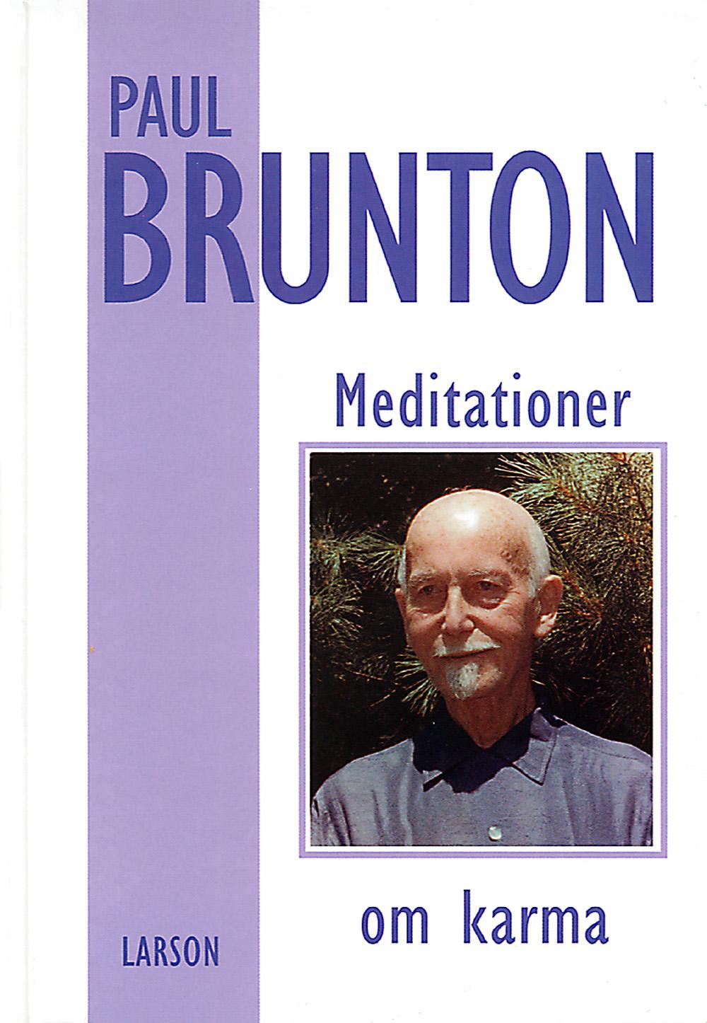 Meditationer om karma av Paul Brunton