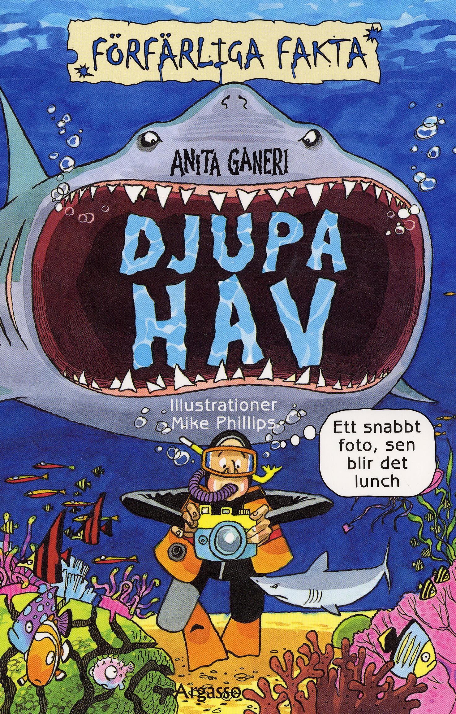 Djupa hav av Anita Ganeri