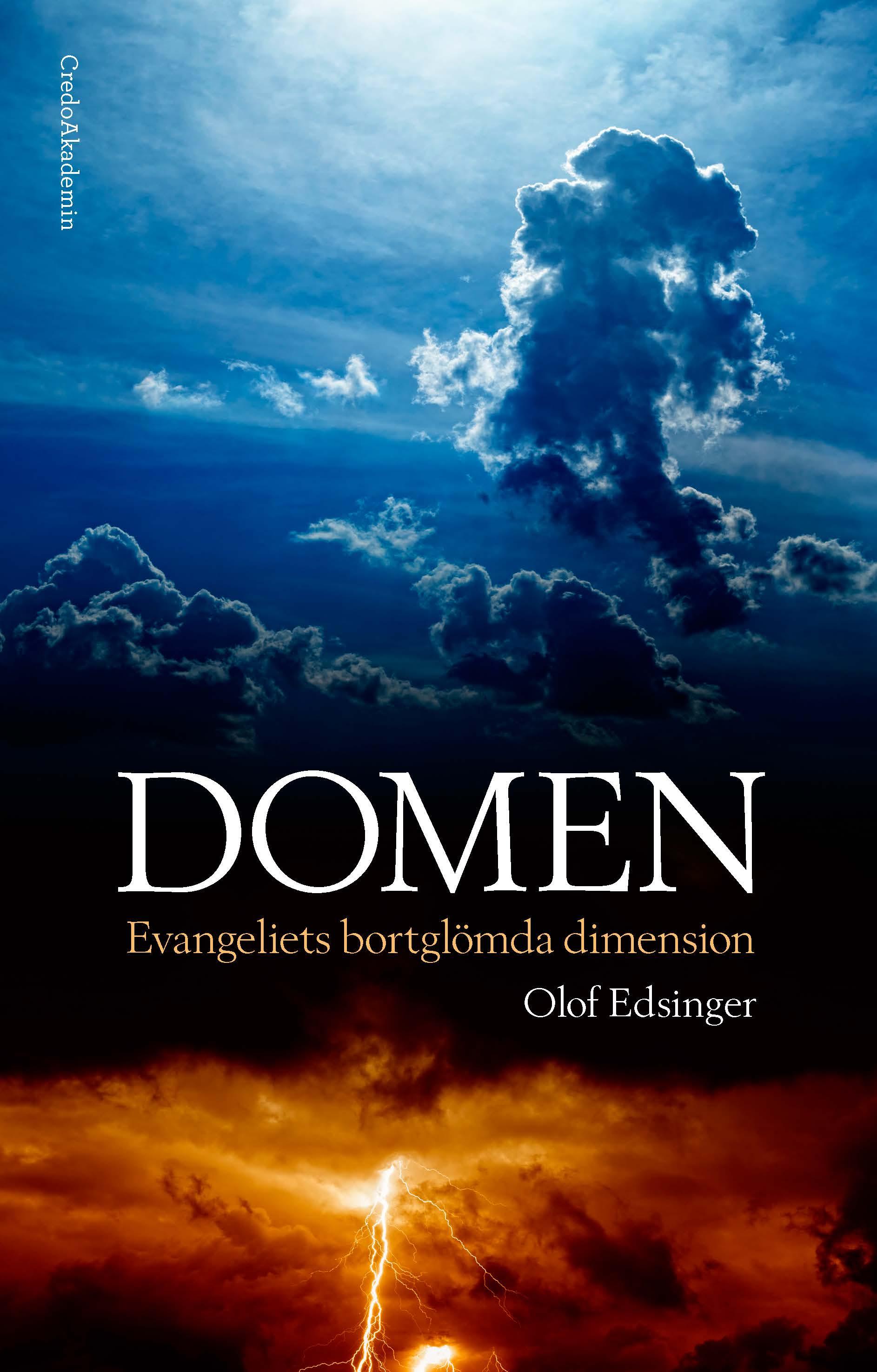 Domen: Evangeliets bortglömda dimension av Olof Edsinger