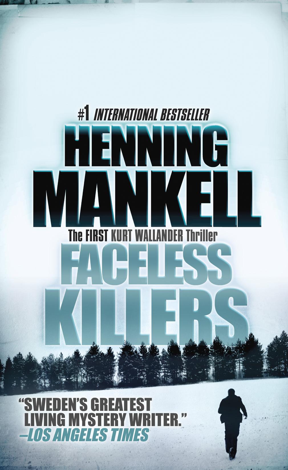 Faceless Killers av Henning Mankell