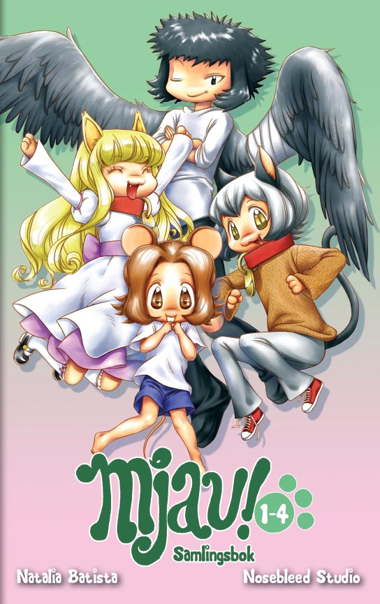 Mjau! 1-4, samlingsbok av Natalia Batista